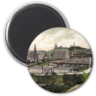 View from Edinburgh Castle Refrigerator Magnet