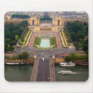 View from Eiffel Mouse Pad