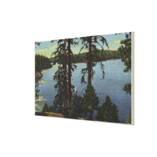 View From Emerald Bay Canvas Print