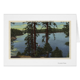 View From Emerald Bay Card