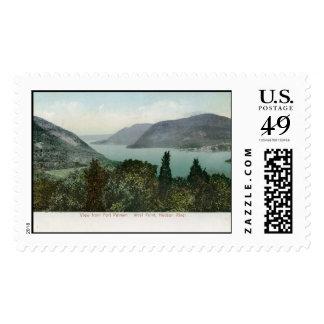 View from Fort Putnam, Hudson River 1906 Vintage Postage Stamp