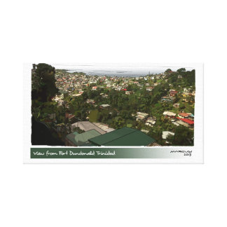 View From Ft. Dundonald, Trinidad Canvas Print