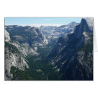 View from Glacier Point in Yosemite National Park Card
