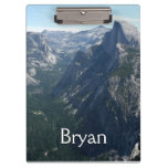 View from Glacier Point in Yosemite National Park Clipboard