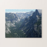View from Glacier Point in Yosemite National Park Jigsaw Puzzle
