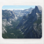 View from Glacier Point in Yosemite National Park Mouse Pad