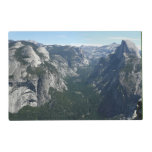 View from Glacier Point in Yosemite National Park Placemat