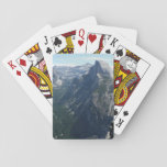"""View from Glacier Point in Yosemite National Park Playing Cards<br><div class=""""desc"""">At Glacier Point in Yosemite, you can see the whole valley, including the famous Half Dome. I hope this picture captures the beauty of the valley. Check out our store for more beautiful landscapes from Yosemite National Park. This photo is also featured as the widescreen wallpaper &quot;View for Glacier Point&quot;...</div>"""