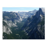 View from Glacier Point in Yosemite National Park Postcard
