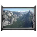 View from Glacier Point in Yosemite National Park Serving Tray