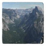View from Glacier Point in Yosemite National Park Trivet