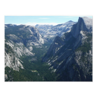 View from Glacier Point Photo Print