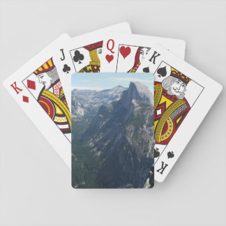 View from Glacier Point Yosemite National Park Poker Cards