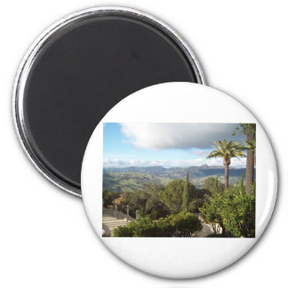 View from Hearst Castle Magnets