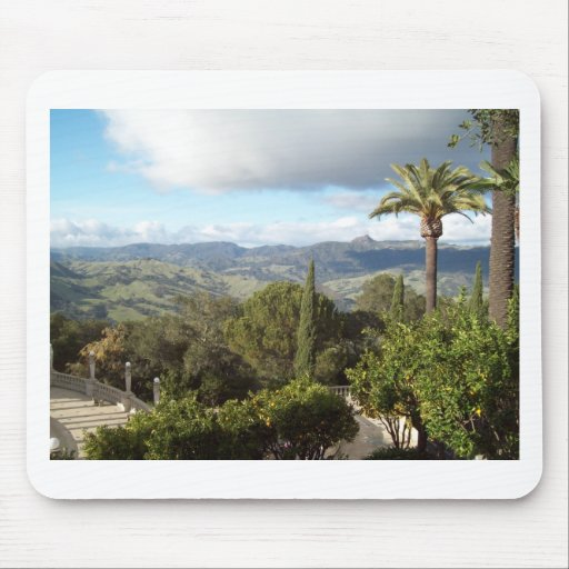 View from Hearst Castle Mouse Pad