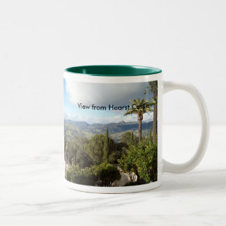 View from Hearst Castle Mugs