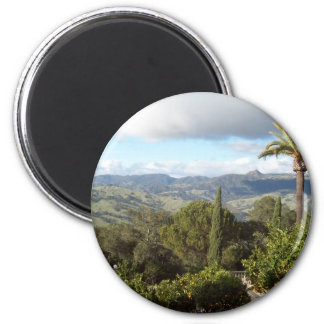 View from Hearst Castle Refrigerator Magnet