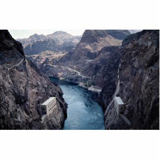 View from Hoover Dam, Nevada/Arizona, USA Cutout