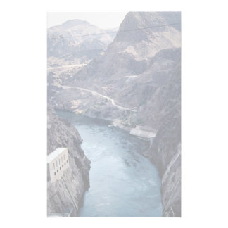 View from Hoover Dam, Nevada/Arizona, USA Stationery Design
