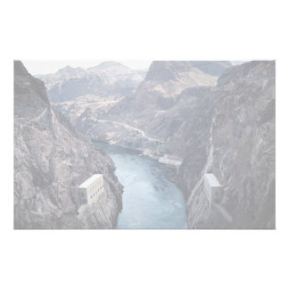 View from Hoover Dam, Nevada/Arizona, USA Personalized Stationery