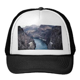 View from Hoover Dam, Nevada/Arizona, USA Trucker Hat