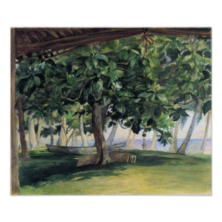 'View From Hut' - John LaFarge Print