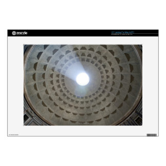 View from inside the Pantheon up to the cupola Laptop Decal