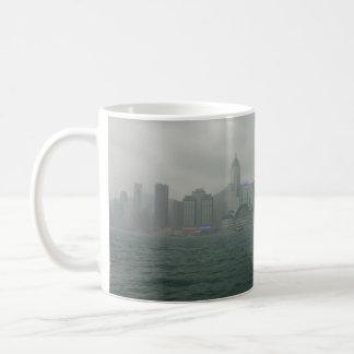 View from Kowloon towards Wan Chai, Hong Kong Coffee Mug