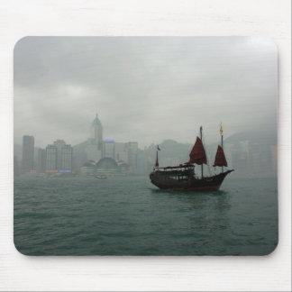 View from Kowloon towards Wan Chai, Hong Kong Mouse Pads