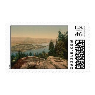 View from Krogkleven Ringerike Norway Postage Stamp