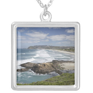 View from Lawyers Head along St Kilda and St Silver Plated Necklace