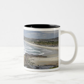 View from Lawyers Head along St Kilda and St Two-Tone Coffee Mug