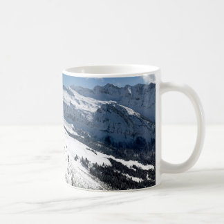 View from Les Gets Classic White Coffee Mug