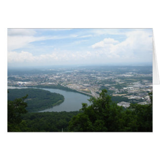 View from Lookout Mountain 2 Card