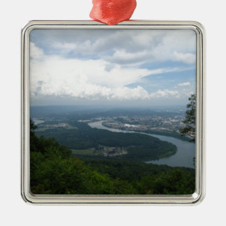 View from Lookout Mountain Christmas Tree Ornament