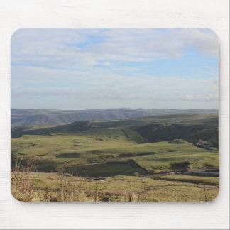 View from Mam Tor.(Peak District) Mouse Pad