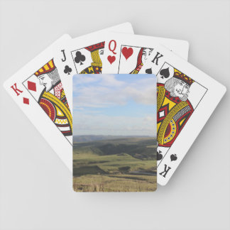 View from Mam Tor.(Peak District) Playing Cards