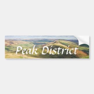 View from Mam Tor, Peak District souvenir photo Bumper Sticker