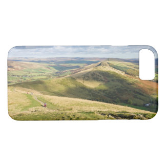 View from Mam Tor, Peak District souvenir photo iPhone 8/7 Case