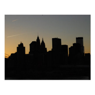 View from Manhattan Bridge Postcard