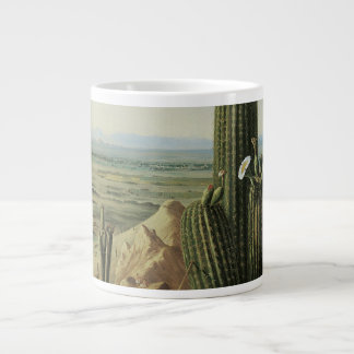 View from Maricopa Mountain Near Rio Gila by Pratt Giant Coffee Mug