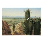 View from Maricopa Mountain Near Rio Gila by Pratt 5x7 Paper Invitation Card