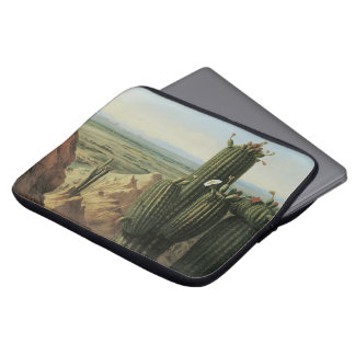 View from Maricopa Mountain Near Rio Gila by Pratt Laptop Sleeve