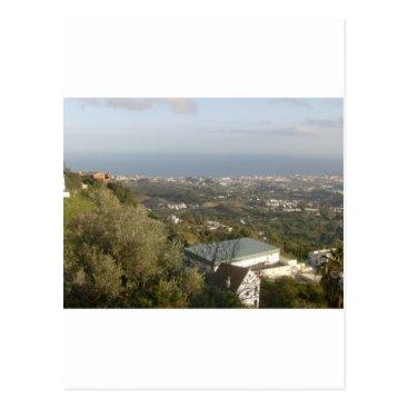 davewilks View from Mijas, Spain Postcard