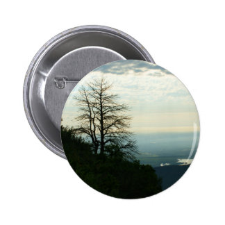 View from Morrison, Colorado Pinback Button