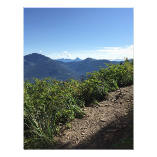 View from Mount Juneau Letterhead