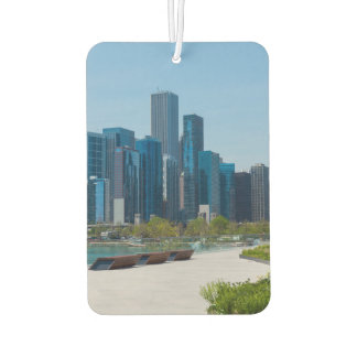 View From Navy Pier Car Air Freshener