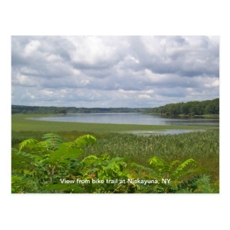 View from Niskayuna Bike Trail Postcard
