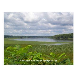 View from Niskayuna Bike Trail Postcards