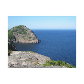 View from North Head Trail -Signal Hill St. John's Canvas Print